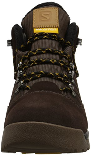 TS Wear Leather Winter Boot CSWP Utility Salomon Trophy Hiking Brown Men's vEnFqAX