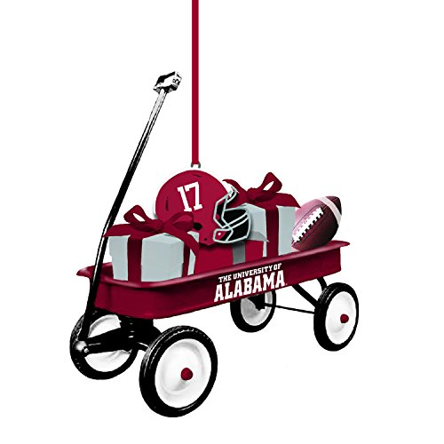 Team Sports America University of Alabama Team Wagon Ornament - Alabama Holiday Ornament