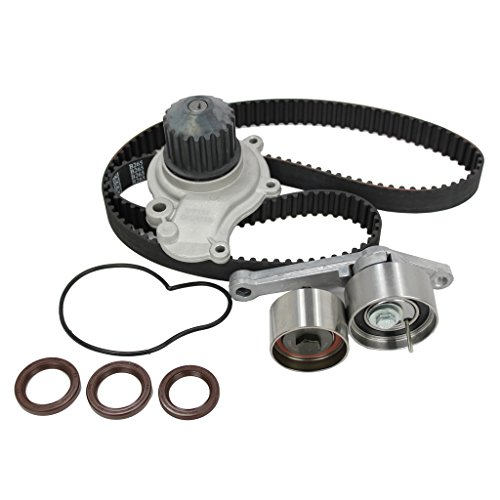 DNJ TBK151WP Timing Belt Kit with Water Pump 1995-2002 / Chrysler, Dodge, Jeep, Plymouth / Breeze, Caravan, Cirrus, Grand Caravan, Grand Voyager, Liberty, PT Cruiser, Sebring, Stratus, Voyager / 2.4L 2000 Plymouth