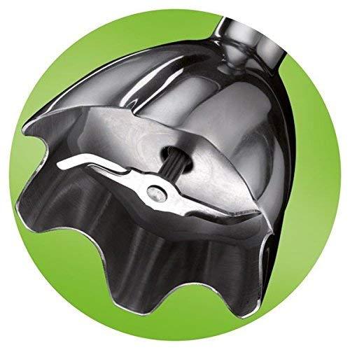 Braun Multiquick 5 MQ 500 Soup Stabmixer grau 600 W, logische Geschwindigkeitsregelung, Turbo-Funktion, EasyClick System, PowerBell Technologie