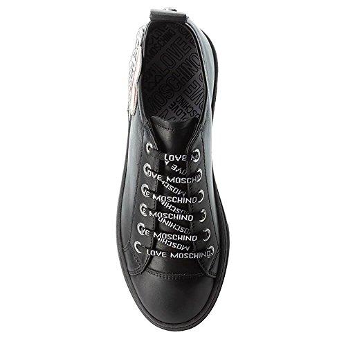 Heart Nero Donna Flatform Love Moschino Nero Sneaker Sneaker qxwIO51Y