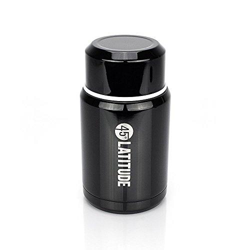 45 Degrees Latitude Stainless Steel Portable Food Jar
