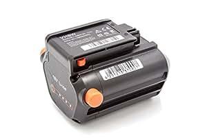 Batería Li-Ion 2000mAh (18V) marca vhbw para cortacésped Gardena Li-18/23 R sustituye 09840-20, BLi-18.