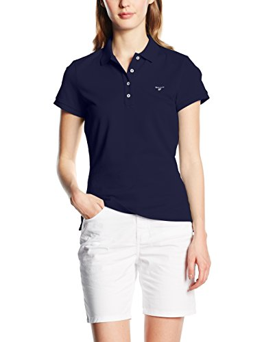 Gant The Original Pique - Polo para mujer Azul (EVENING azul 433)