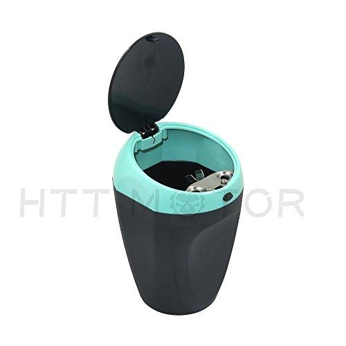 SMT MOTO- Mini Portable Ashtray Cigarette Cup Car Butt Bucket Smoke Ash Holder Blue