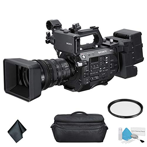 (Sony PXW-FS7M2 4K XDCAM Super 35 Professional Camcorder with 18-110mm Zoom Lens - Bundle with Carrying Case + More)