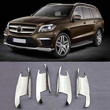 FidgetGear - Embellecedor para Manilla de Puerta de Mercedes-Benz X166 GL450 350 550 (