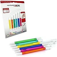 "Nintendo 3DS - Stylus-Set ""Rainbow"" [Importación Alemana]"