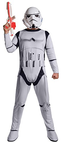 Rubie's Star Wars Men's Classic Stormtrooper Costume, White, X-Large