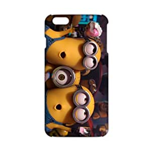 diy zhengCool-benz Mischievous Minions 3D Phone Case for Ipod Touch 5 5th