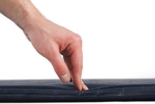 Ultrasport Aislante autoinflable/colchoneta autoinflable,óptima para el camping,colchoneta para el exterior,ligera y cómoda,impermeable,colchoneta térmica en 3 grosores,plegada ,Unisex Adulto, Azul: Amazon.es: Deportes y aire libre