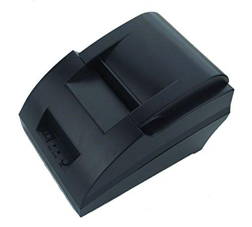 Smart&Cool® SC-5890C USB POS Printer with 58mm Thermal Paper Rolls - 90mm/sec High-speed Printing (Black) 60 Sec Single Supply