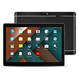 TYD 10.1 inch Unlocked 3G Call Phone WiFi Tablet PC Octa Core Android 6.0 Lollipop 2GB+ 32G Smart Phone 2G 3G WiFi Google Tablet IPS 1920X1080 GPS Cellphone 108-Black