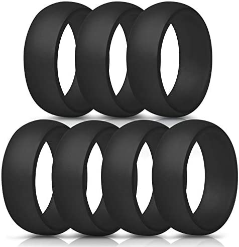 ThunderFit Silicone Rings Wedding Bands product image