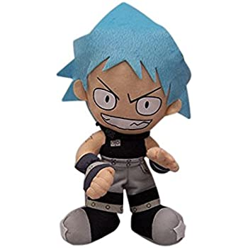 "Black Star Authentic  Soul Eater Toy GE-8932 9/"" Plush Stuffed Doll"