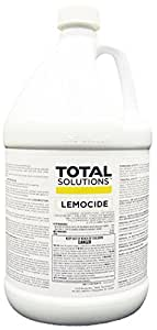 Lemocide, Lemon-scented disinfectant and deodorizer - 4 Gallons