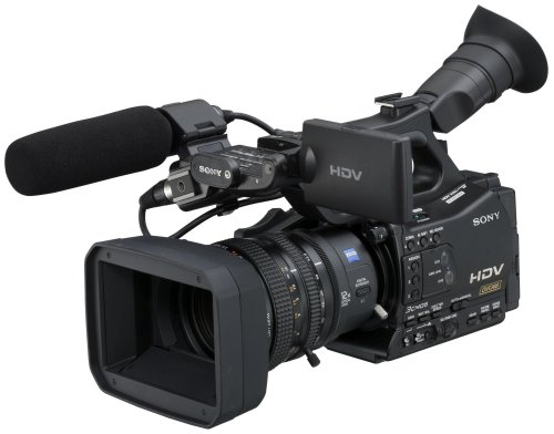 Amazon.com : Sony HVR-Z7U HDV Professional Video Camcorder ...