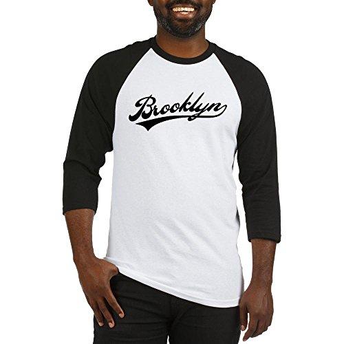 Team Baseball Brooklyn (CafePress - Brooklyn Baseball Logo Baseball Jersey - Cotton Baseball Jersey, 3/4 Raglan Sleeve Shirt)