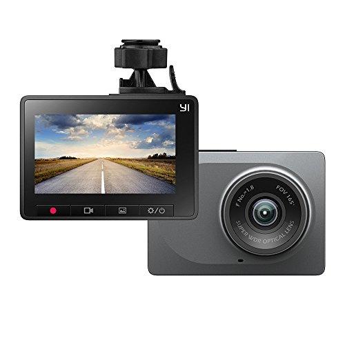 YI 드라이브 레코더 데쉬 카메라 차량 탑재 카메라 165°광각 1080P 풀HD 2.7인치 스크린 G센서 탑재 diving recorder JP판 스탠드 부착 오리지날 정규품 그레이 89022