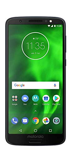 Motorola Moto G6 MOTXT192512 - 32GB - (Verizon) Smartphone - BLACK - (Renewed)