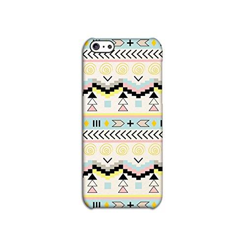 Aztec Pale Tribal Patterned Deflector Back Case for Apple iPhone 5C