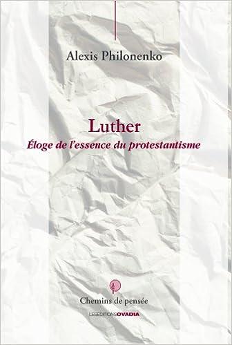 Livres Luther : Eloge du Protestantisme pdf