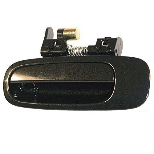 98-02 Corolla Prizm Rear Black Outside Outer Exterior Door Handle Left Driver