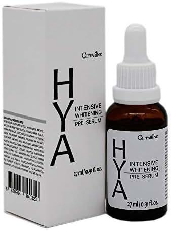 Giffarine Hya Intensive Whitening Pre-Serum, a concentrated formula serum, light texture Strength,Anti-Aging Serum 27ml/0.91 oz.By PS