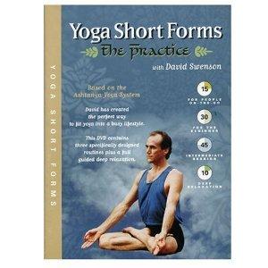 Amazon Com Yoga Short Forms The Practice Ashtanga Yoga David Swenson Doug Swenson Movies Tv