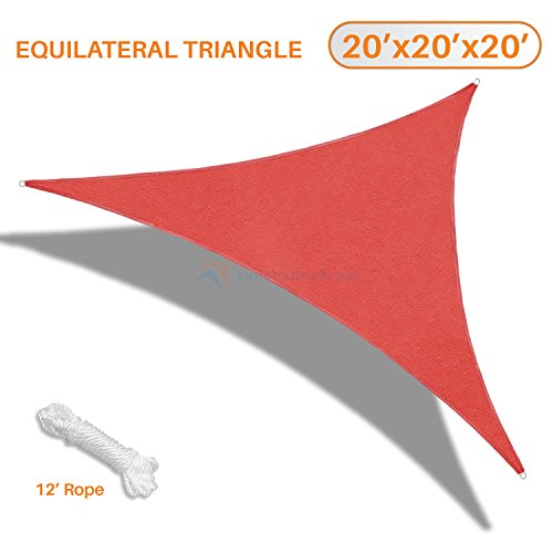 sunshades-depot-20-x-20-x-20-sun-shade-sail-equilateral-triangle-permeable-canopy-rust-red-custom-si