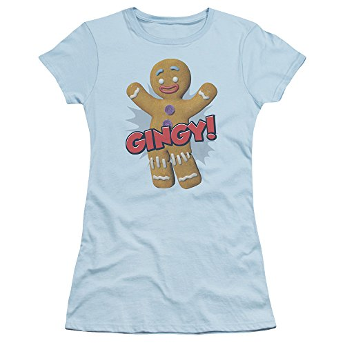 Shrek Animated Children's Comedy Movie Gingy Gingerbread Man Jrs Sheer -