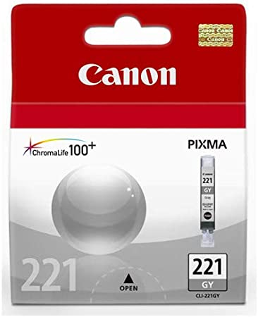 PIXMA MP980; Gray Ink MG Compatible Inkjet Cartridges CCLI221GY Replacement for Canon CLI-221GY; Models
