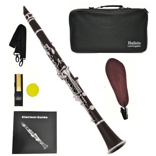 Hallelu HCL- 200 Clarinet W/case Nickel Plated Keys by Hallelu Music (Image #6)