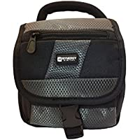 Canon Vixia HF R800 Camcorder Case Camcorder and Digital Camera Case - Carry Handle & Adjustable Shoulder Strap - Black / Grey - Replacement by Synergy