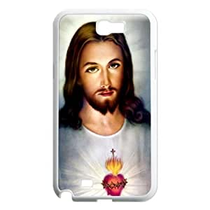 [Tony-Wilson Phone Case] For Samsung Galaxy Note 2 -IKAI0446864-Jesus Christ Love Us