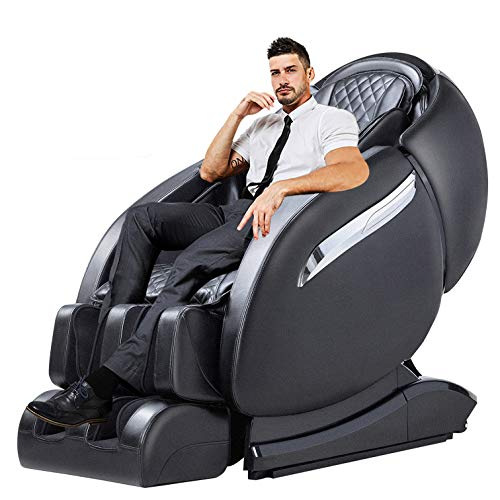Massage Chair Recliner, Zero Gravity Full Body SL-Track, Shiatsu Electric Massage Chair with Stretching, Tapping, Heating,Yoga Massage Back and Foot Massagers -