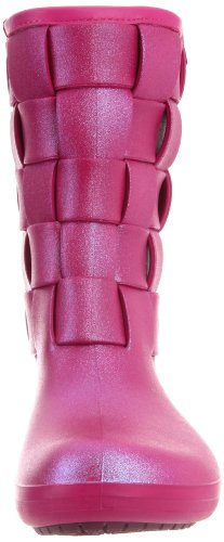 Crocs - - Mujeres SuperMolded Iri Weave Boot W Zapatos Berry/Berry