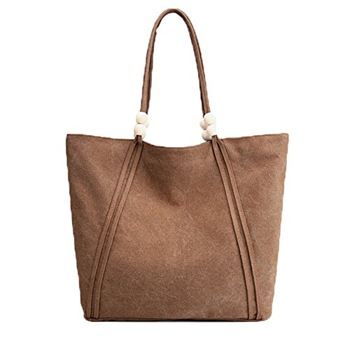 bag Student bag working bag Ladies Coffee Owarder Tote bag Casual Hobo canvas Shoulder bag handbag A1nAxYPwH