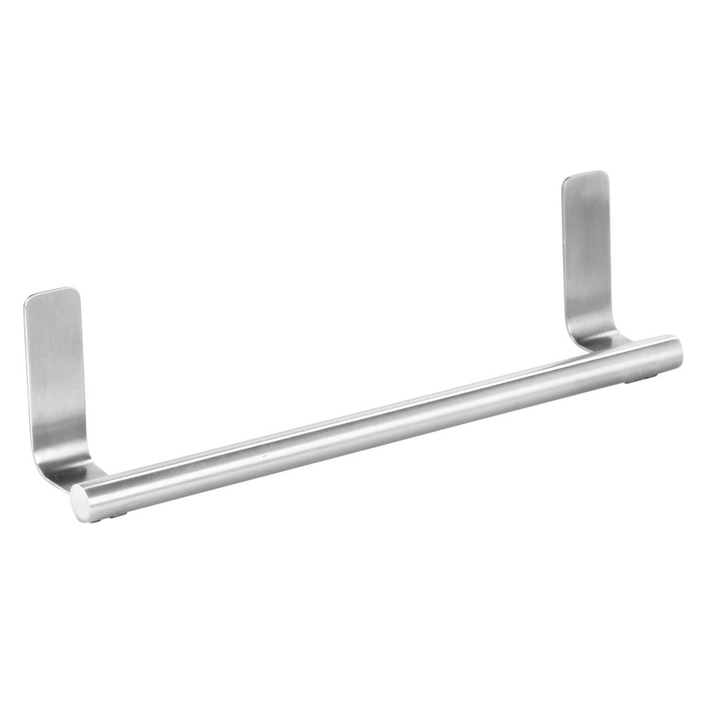 Amazon.com: InterDesign Forma Self Adhesive Towel Bar Holder For Bathroom  Or Kitchen   Stainless Steel: Home U0026 Kitchen