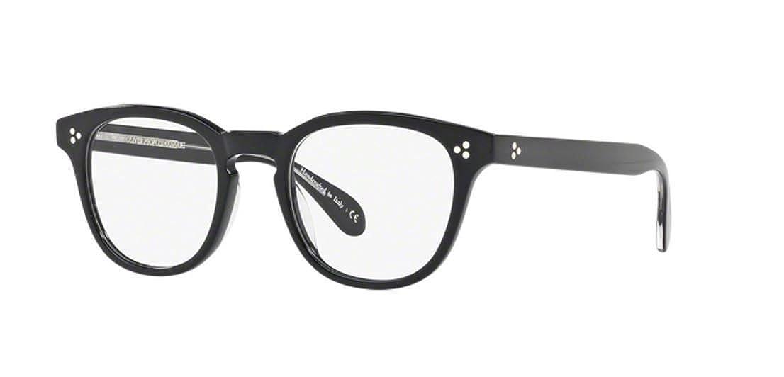 New Oliver Peoples OV 5356 U Kauffman 1492 Black Eyeglasses