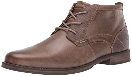 Steve Madden Men's Pagosa Boot, Taupe Nubuck, 9.5 M US