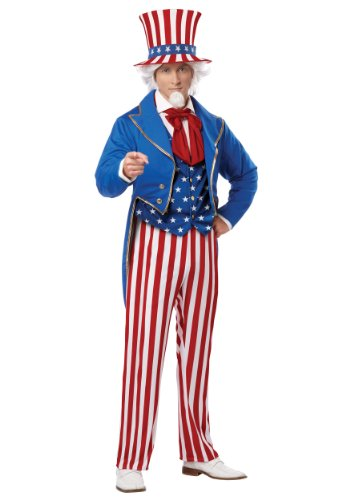 Men's Uncle Sam Adult