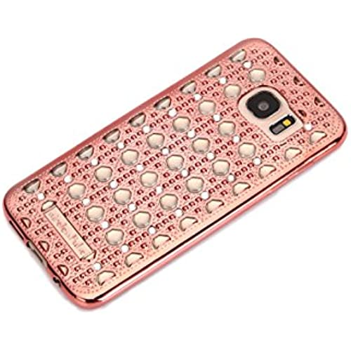 New Fashion Designer Samsung Galaxy S7 Case Luxury Crystal Diamond Vintage Transparent Shockproof Soft Slim TPU Bling Samsung Galaxy S7 Case Cover Sales