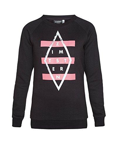 Zimtstern Mujer Sweater SW Dashing Negro negro Talla:extra-small Negro - negro