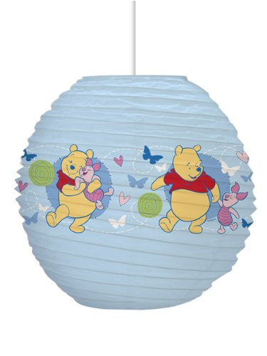 Winnie the pooh paper light shade amazon lighting winnie the pooh paper light shade aloadofball Images