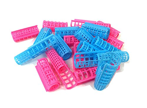 Plastic DIY Grip Cling Hair Roller Curler Clips Hair Styling Hairdressing (Small)