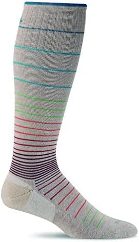 Sockwell Women's Circulator Graduated Compression Socks-Ideal for-Travel-Sports-Nurses-Pregnancy-Reduces Swelling