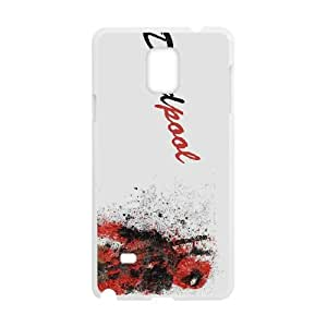 Comics Deadpool comic Samsung Galaxy Note 4 Cell Phone Case White Classical