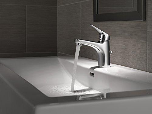 Amazon.com: Delta Faucet 534LF-PP Modern Single Handle Lavatory ...