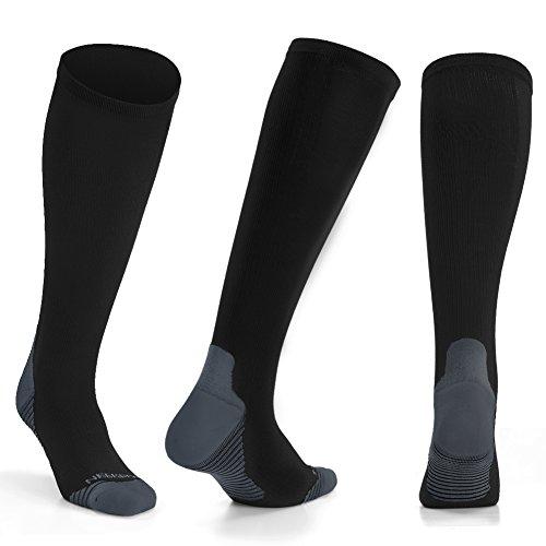 NEEKFOX Compression Socks for Men & Women - Graduated Compression Stockings for Running, Nurses, Athletic, Flight Travel by NEEKFOX